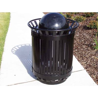 45 Gallon Iron Valley Exclusive Trash Receptacle - Image 2