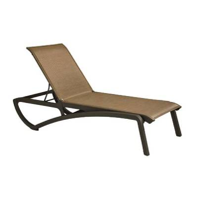 Grosfillex Patio Furniture - Sunset Sling - Sunset Sling Chaise Lounge