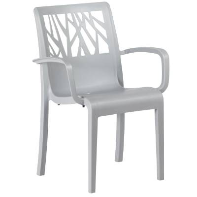 Grosfillex Patio Furniture - Vegetal Stacking Armchair