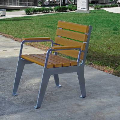 Picnic Tables - Recycled Plastic - Quick Ship - Plaza Recycled Plastic Chair - Quick Ship