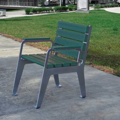 Plaza Recycled Plastic Chair - Quick Ship - Image 3