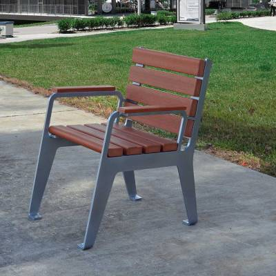Plaza Recycled Plastic Chair - Quick Ship - Image 4