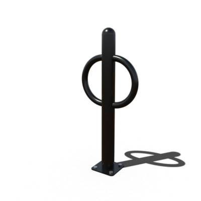 Commercial Bike Racks - Ring Bollard Bike Rack
