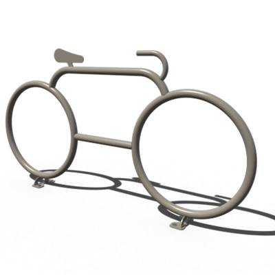 Commercial Bike Racks - Cyclist Bike Stand