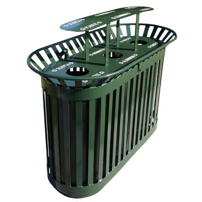 Trash Disposal - Recycling Receptacles - Tri Recycling Container