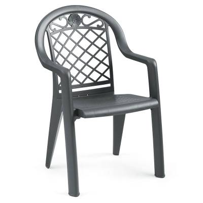 Grosfillex Patio Furniture - Resin Chairs - Savannah Stacking Armchair