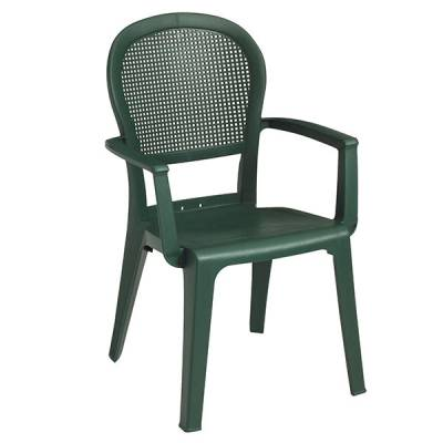 Grosfillex Patio Furniture   Resin Chairs   Seville Stacking Armchair