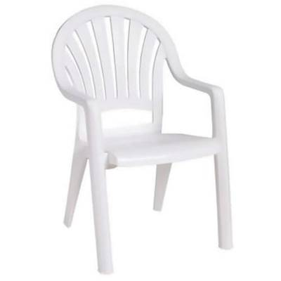 Pacific Fanback Stacking Armchair - Image 2