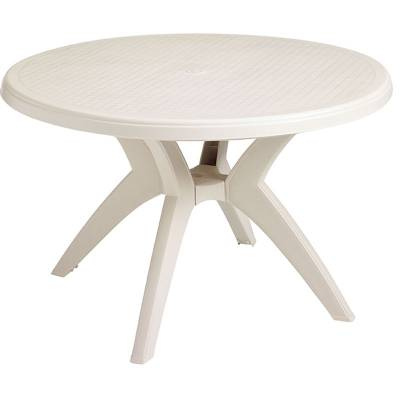 "46"" Round Ibiza Resin Table - Image 2"