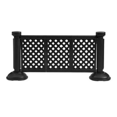 Grosfillex Patio Furniture - Occasional Tables & Umbrellas - Decorative Three Panel Lattice Section