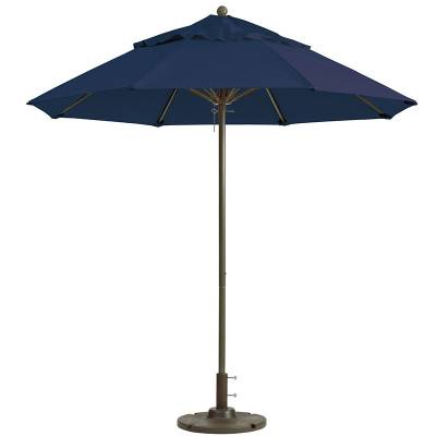 Grosfillex Patio Furniture - Occasional Tables & Umbrellas - 7 1/2' Windmaster Fiberglass Market Umbrella