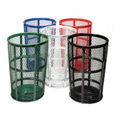 48 Gallon Expanded Metal Receptacle - Image 1