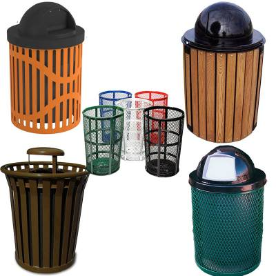 Trash Disposal - Outdoor Trash Receptacles