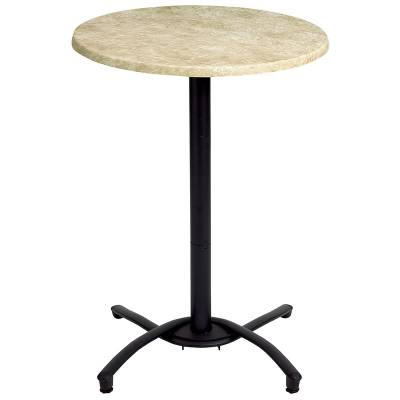"Grosfillex Patio Furniture - 30"" Round Bar Top Table"