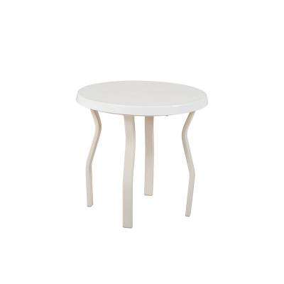 """18"""", 20"""" and 24"""" Round Stacking Fiberglass Top Side Table - Image 2"""