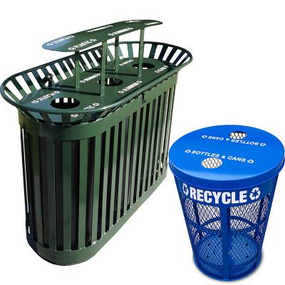 Trash Disposal - Recycling Receptacles