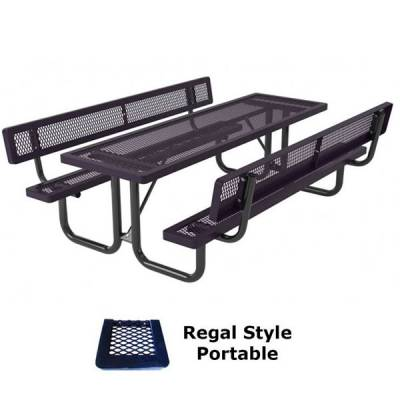6' and 8' Specialty Picnic Table - Portable - Image 2