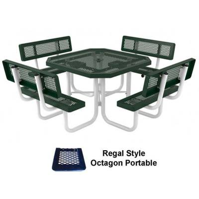 "Picnic Tables - 46"" Specialty Picnic Table - Portable"