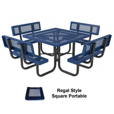 "46"" Specialty Picnic Table - Portable - Image 2"