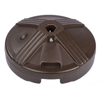 50 Lb. Plastic Covered Cement Filled Base with Handle - Image 2