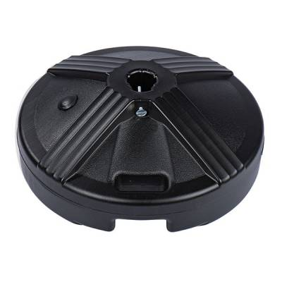 50 Lb. Plastic Covered Cement Filled Base with Handle - Image 3