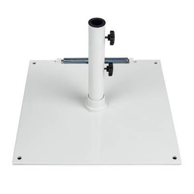 75 Lb. Square Steel Freestanding Base with Wheel - Image 3