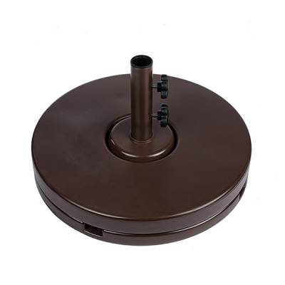 70 Lb. 2 Pc. Resin Coated Weighted Umbrella Base. - Image 2