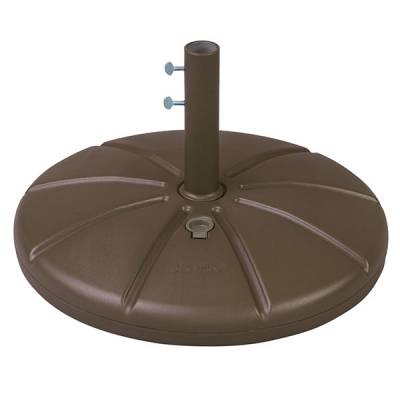 Umbrellas & Bases - Umbrella Bases - Resin Umbrella Base with Filling Cap