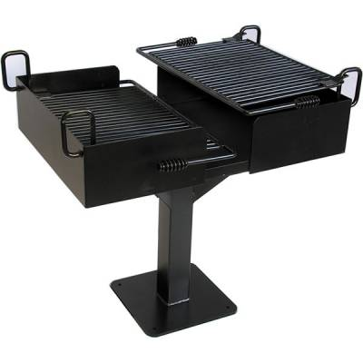 Grills & Fire Rings - Commercial Grill - Surface and Inground Mount