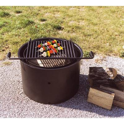 """30"""" x 7""""Ht. Non-Adjustable Fire Ring - Single Flange - Image 2"""