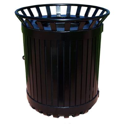 45 Gallon Iron Valley Exclusive Trash Receptacle - Image 1