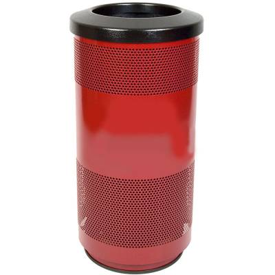 Trash Disposal - 20 Gallon Perforated Metal Recycling Container