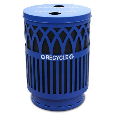 Trash Disposal - Recycling Receptacles - 40 Gallon Covington Recycling Receptacle