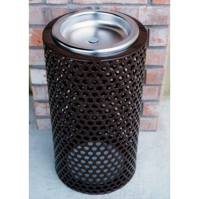 Trash Disposal - Outdoor Ash Receptacles - Perforated Ash Urn