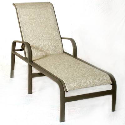 Bonaire Sling Stacking Chaise Lounge - Image 1
