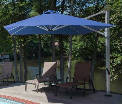 Frankford Eclipse 13 ft. Octagon Cantilever Umbrella - Image 5