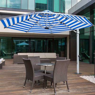 Frankford Aurora 11 Ft. Octagon Cantilever Umbrella - Image 1