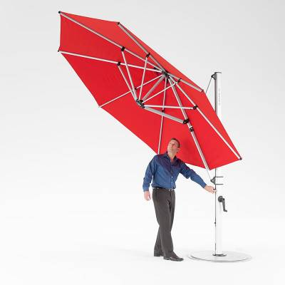 Frankford Aurora 11 Ft. Octagon Cantilever Umbrella - Image 2