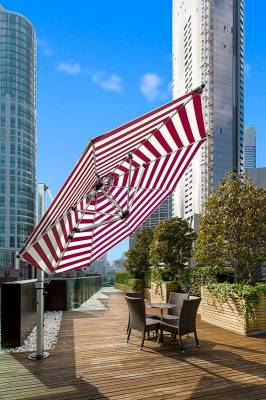 Frankford Aurora 11 Ft. Octagon Cantilever Umbrella - Image 3