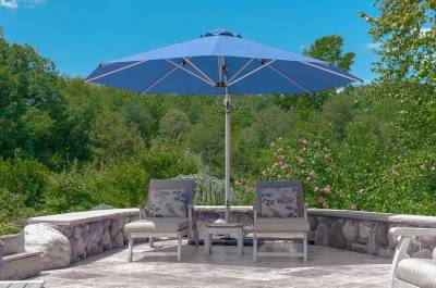 Frankford Aurora 11 Ft. Octagon Cantilever Umbrella - Image 4