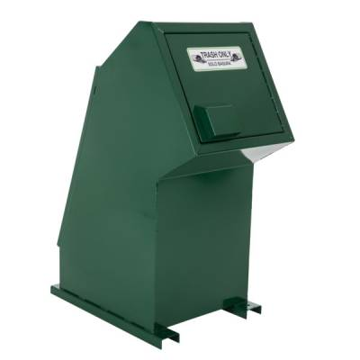 Trash Disposal - 32 Gallon Animal Resistant Single Trash Receptacle