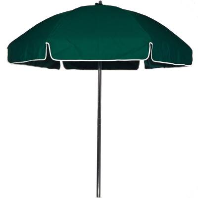 6 1/2 Ft. Lifeguard Flat Top Umbrella, Steel Ribs - Push Up Style with Tilt - Image 2