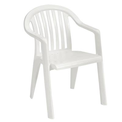 Miami Lowback Stacking Armchair - Image 3