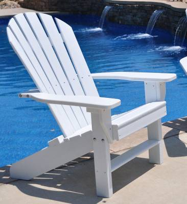 Seaside Adirondack Chair - Quick Ship - Image 1