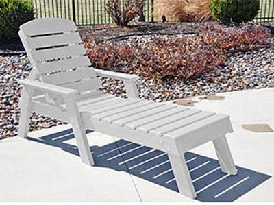 Adirondack Chairs   Pensacola Chaise Lounge   Quick Ship