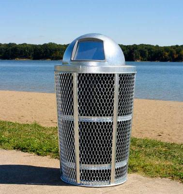 48 Gallon Expanded Metal Receptacle - Image 3