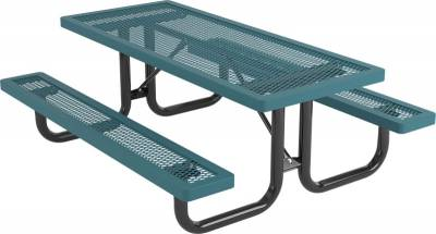 Elementary 6' and 8' Regal Picnic Table - Portable - Image 2