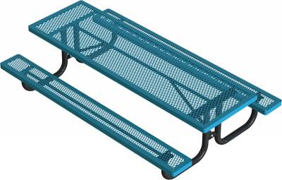 Elementary 6' and 8' Regal Picnic Table - Portable - Image 3