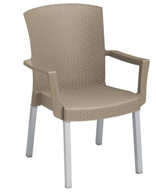 Grosfillex Patio Furniture - Resin Chairs - Havana Classic Stacking Armchair