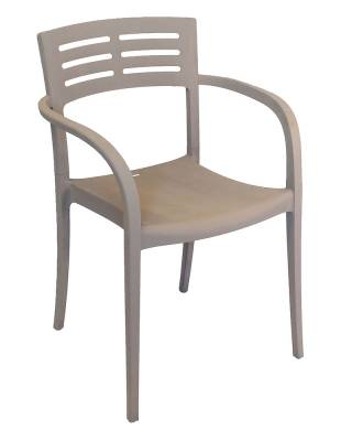 Grosfillex Patio Furniture - Vogue Stacking Armchair